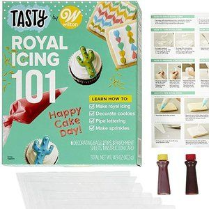 Wilton Tasty Royal Icing 101 - Food Crafting